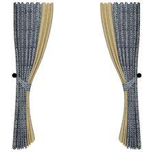 Stylish Curtain Stock Images