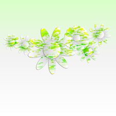 Free Abstract Flowers Background Royalty Free Stock Image - 33985416