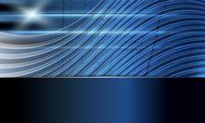 Blue Abstract Vector Background Stock Photos