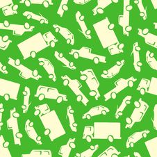 Free Cars Seamless Pattern Royalty Free Stock Photography - 33988287