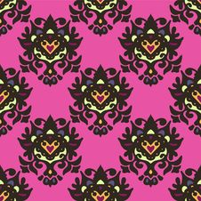 Free Ethnic Seamless Pattern Vector Royalty Free Stock Images - 33989139