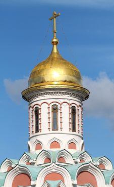 Free Dome Of The Church Of The Kazan Kremlin In Moscow Royalty Free Stock Photography - 33993457