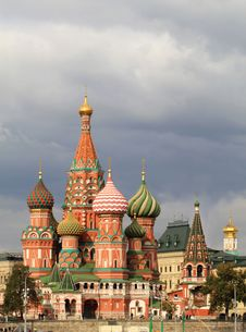 Free St. Basil S Cathedral Stock Images - 33993624