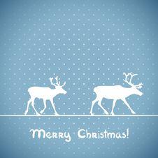 Free Vector Christmas Greeting Card. Royalty Free Stock Photos - 33996068