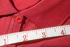 Free T-shirt Measure Stock Images - 33997124