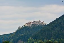 Free View Of The Medieval Fortress Of Rasnov. Royalty Free Stock Images - 33997589