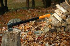 Free Chopping Wood Stock Photo - 341650