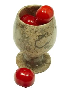 Free Cherries In Goblet 1 Stock Photo - 341910