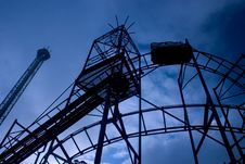 Free Roller Coaster Royalty Free Stock Images - 342849