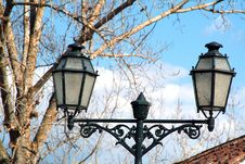 Free Typical Street Lamp Royalty Free Stock Images - 342989
