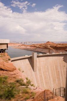 Free Glen Canyon Dam 1 Stock Photography - 343992