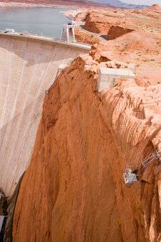 Free Glen Canyon Dam 4 Royalty Free Stock Photo - 343995