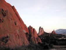 Free Garden Of The Gods Stock Image - 344001