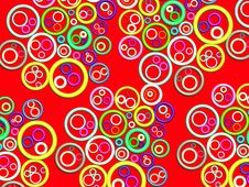 Free 3D-abstract Pattern(red) Stock Images - 345104
