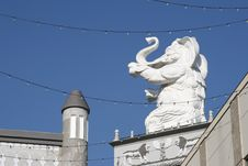 Free White Elephant Royalty Free Stock Photo - 345225