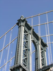 Free Manhattan Bridge Stock Photography - 345382