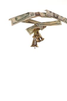 Free Bells Ring On The Money Tree Stock Images - 345694