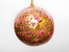 Free Christmas Tree Ball Royalty Free Stock Photography - 346247