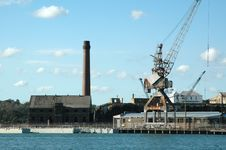 Free Industry-Waterfront Stock Image - 347481