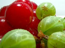 Free Cherries And Gooseberries 3 Stock Photos - 347553
