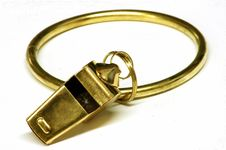 Free Jailer S Whistle Royalty Free Stock Images - 347809