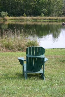 Free Chair With A View Stock Images - 348034