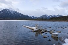 Free Mountain Lake In Winter 3 Stock Photos - 349133