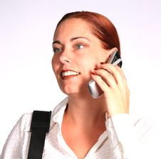 Free Corporate Woman On Phone Royalty Free Stock Photos - 349808