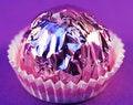 Free Praline  On   Purple Royalty Free Stock Images - 3407579