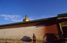 Free Tibetan Architecture Royalty Free Stock Photography - 3400157