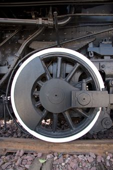 Free Steam Engine Wheel Royalty Free Stock Images - 3400919
