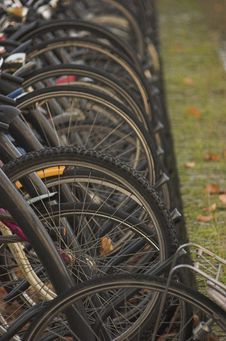 Free Bicycles In Delft Stock Images - 3401084