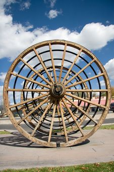 Free Large Wagon Wheel Stock Photos - 3401163