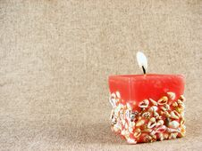 Free Red Candle Stock Images - 3402384