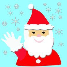 Free Santa Hello Stock Photo - 3402660