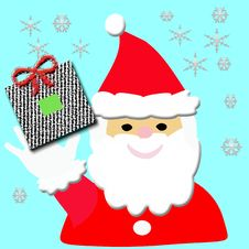 Free Santa Hello Royalty Free Stock Image - 3402666