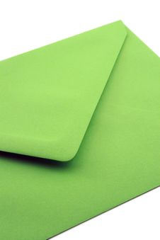 Free Close-up Green Envelope Stock Photography - 3402952