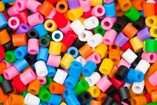 Free Colorful Beads Royalty Free Stock Image - 3403666