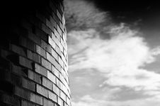 Free Brick And Cloud 2 Royalty Free Stock Photography - 3404617