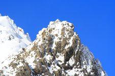 Free Snow Mountain Royalty Free Stock Photo - 3404655