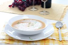 Free Cream Soup Royalty Free Stock Photo - 3404975