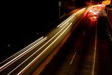 Free Busy Commuter Freeway Royalty Free Stock Photo - 3405045