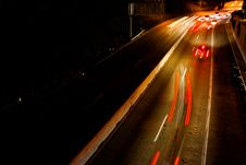 Free Busy Commuter Freeway Royalty Free Stock Photos - 3405048