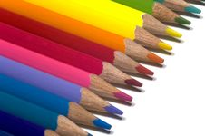 Free Color Pencils Stock Image - 3406171