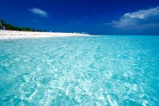 Free Ocean View Of Paradise Island Stock Photo - 3406200