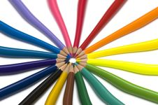 Free Abstract Pencils Royalty Free Stock Photo - 3406265