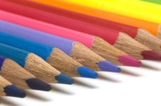 Free Color Pencils Royalty Free Stock Image - 3406346