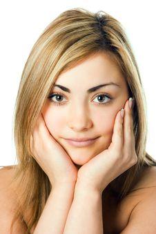 Spa Beauty Woman Portrait Stock Photos