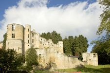 Castle In Luxembourg Royalty Free Stock Images