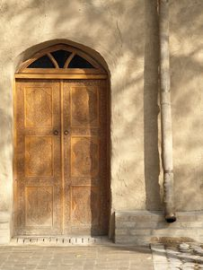 Free Central Asian Door & Shadows Stock Photos - 3407323